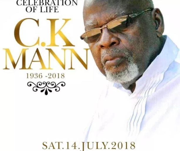 CK Mann Tribute Song – Ft. Kofi Kinaata, Paulina Oduro, Kofi Bentil, Nero X & Ayesem