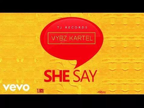 Vybz Kartel – She Say (Prod. By TJ Records)