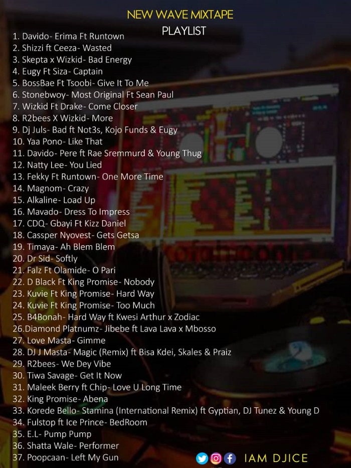 DJ Ice - New Wave Mixtape Vol.1