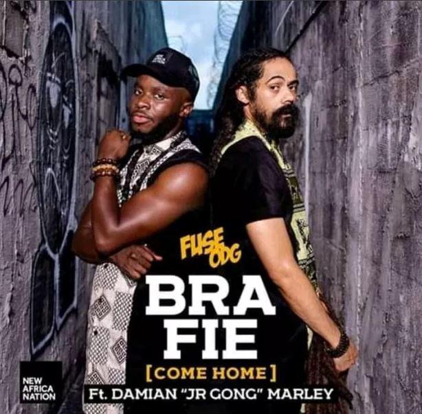 Fuse ODG – Bra Fie Come Home Ft Damian 'Jr Gong' Marley mp3 download