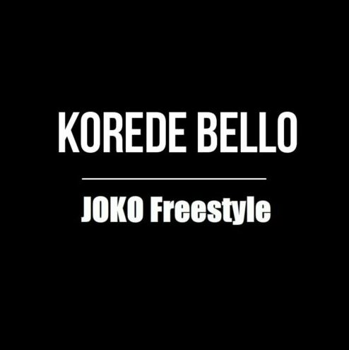 Download MP3: Korede Bello – Joko (Freestyle)