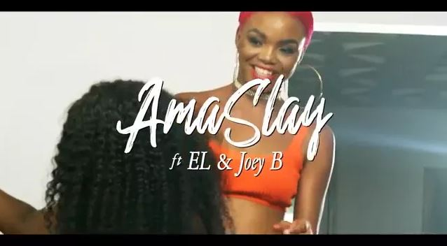 Download MP3: Official Video: Ama Slay – Asem Ft. Joey B x E.L