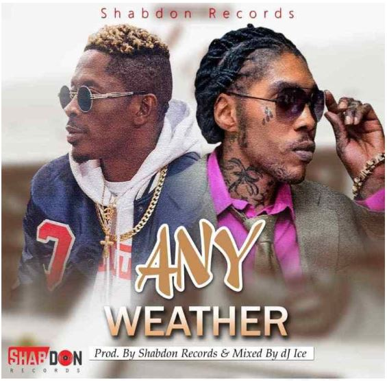 Download MP3: Vybz Kartel x Shatta Wale – Any Weather (Prod by Shabdon Records)