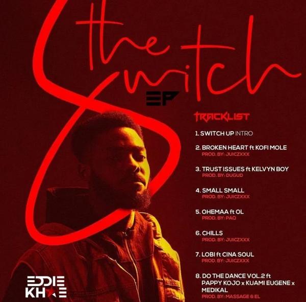 Eddie Khae – Broken Heart Ft Kofi Mole mp3 download(Prod. By Juiczxxx)