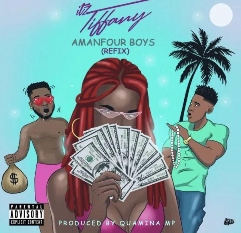 Itz Tiffany – Amanfuor Boys (Refix) mp3 download