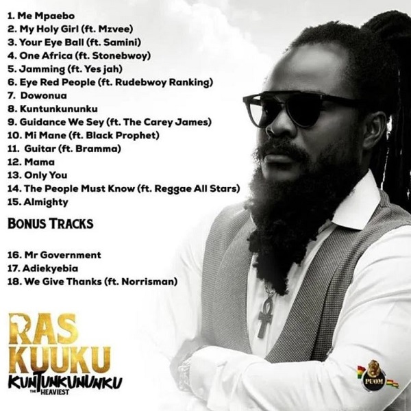 Ras Kuuku – Mi Mane Ft Black Prophet mp3 download