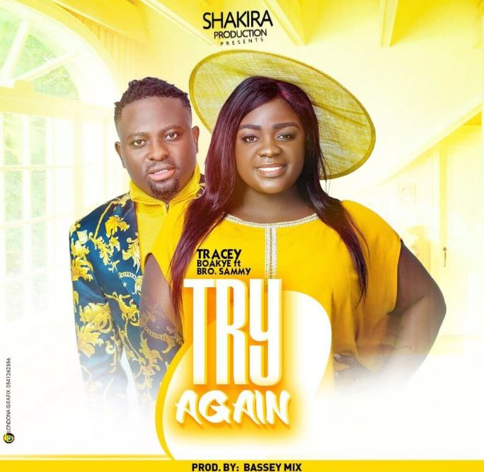 Tracey Boakye – Try Again Ft Brother Sammy mp3 download