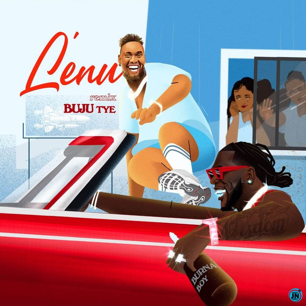 Buju Lenu remix artwork