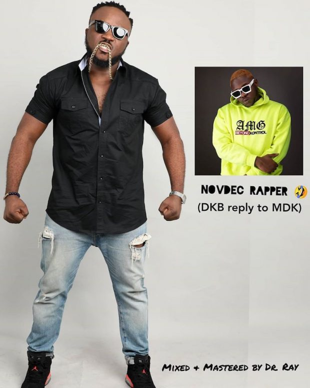 DKB – NovDec Rapper (Medikal Diss) mp3 download