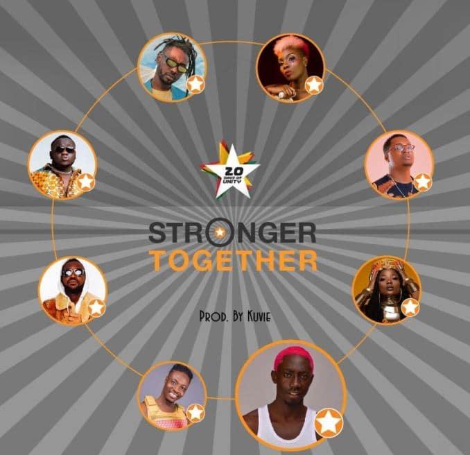 Efya x Bosom Pyung x Kojo Cue x Fancy Gadam x CJ Biggerman x Pappy Kojo x Yaa Pono x Feli Nuna – Stronger Together