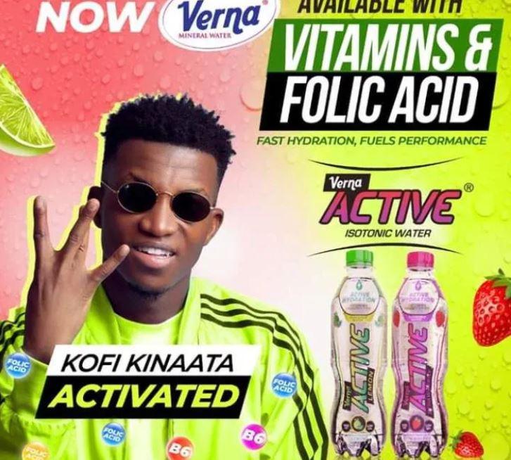 Kofi Kinaata – Verna Active mp3 download