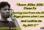 Kwesi Arthur - Live From The 233 Lyrics