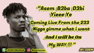 Kwesi Arthur - Live From The 233 Lyrics