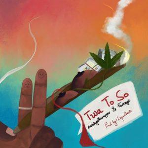 AmakyeTheRapper - Twa To So Ft Fameye (Prod. by Liquid Beatz)