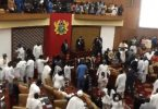 Ghana Parliament Fight