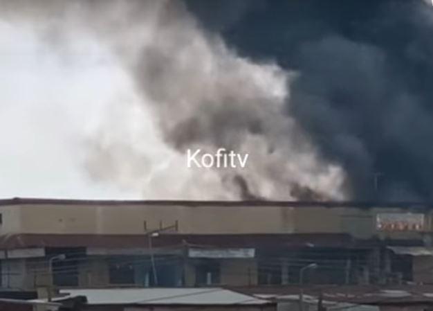 Kumasi Aboabo Market On Fire