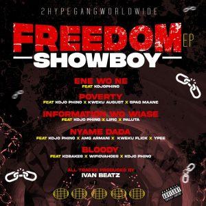 Showboy – Information Wo Wiase ft Kojo Phino, ItzLific & King Paluta (Prod. by Ivan Beatz)