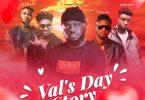 Kwadwo Sheldon - Val's Day Story ft Lyrical Joe, Amerado, Romeo Swag & Kev The Topic