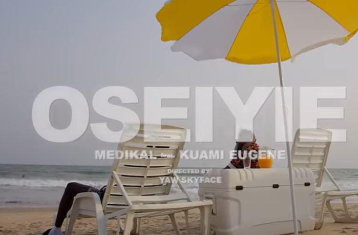 oseiyie video by medikal ft kuami eugene