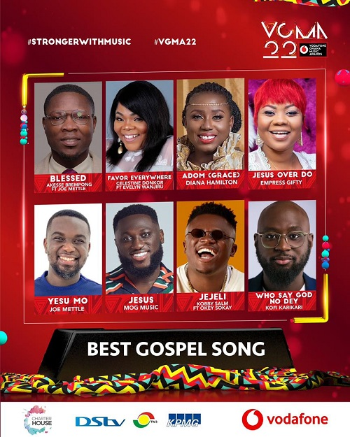 vgma 2021 gospel song of the year