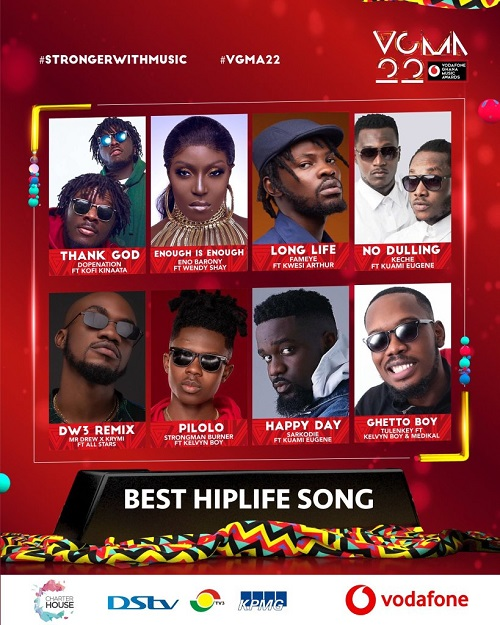 vgma 2021 hiplife song of the year