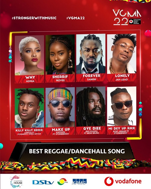 vgma 2021 reggae dancehall song of the year