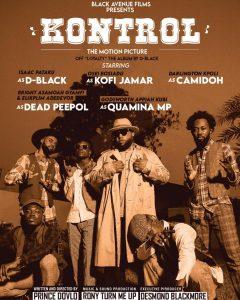 D-Black - Kontrol ft Kofi Jamar, Dead Peepol, Quamina MP & Camidoh