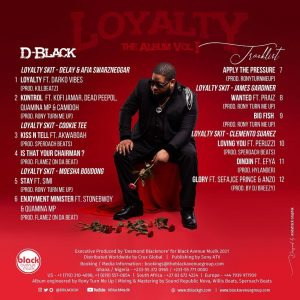 D-Black - Loyalty Album