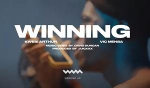Kwesi Arthur - Winning Video Ft Vic Mensa