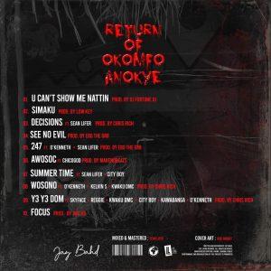 Jay Bahd - Return Of Okomfo Anokye EP [Full Album]