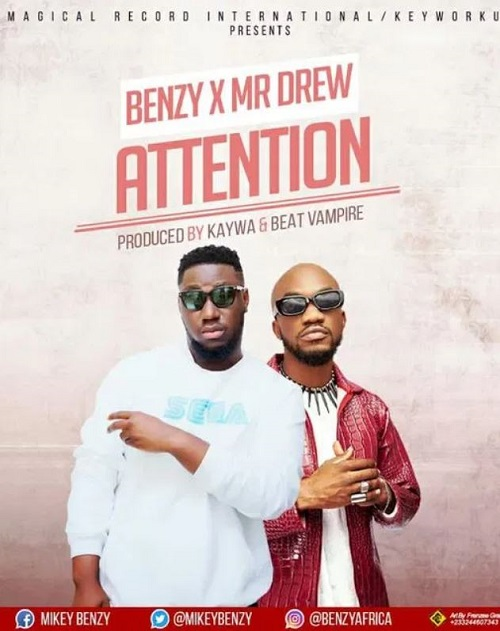 mikey benzy – body attention ft mr drew