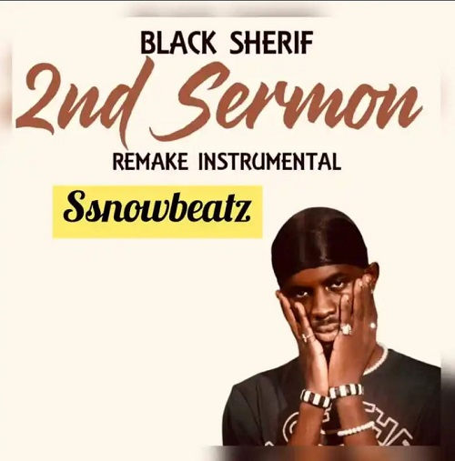 black sherif 2nd sermon instrumental