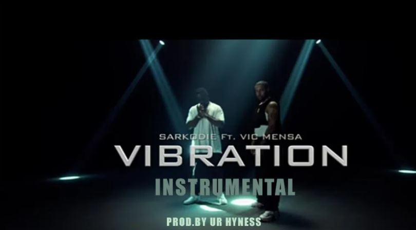 sarkodie – vibration instrumental ft vic mensa